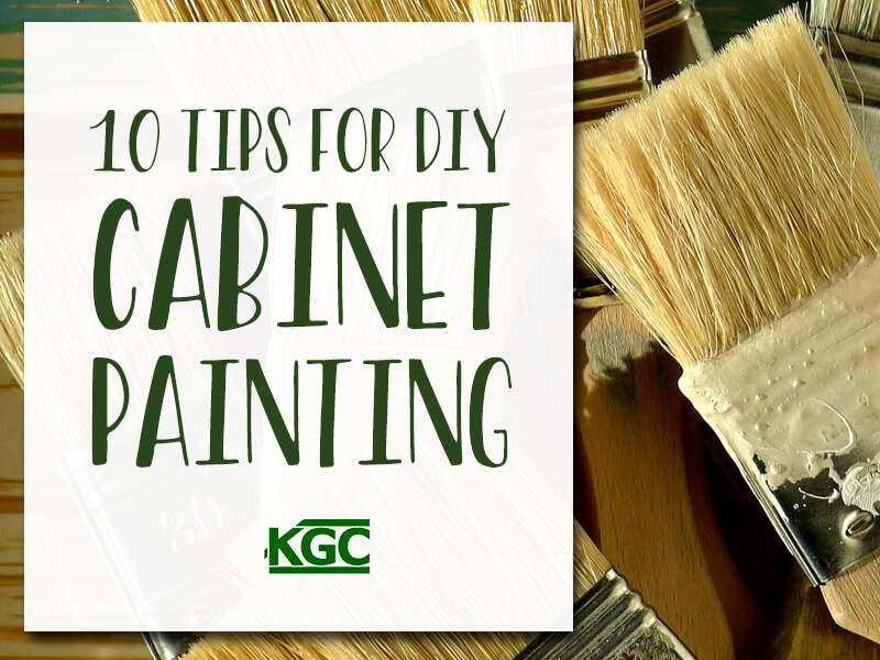 TN-10 tips for DIY cabinet painting