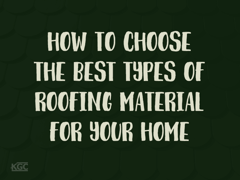 TN-how to choose the best roofing materials